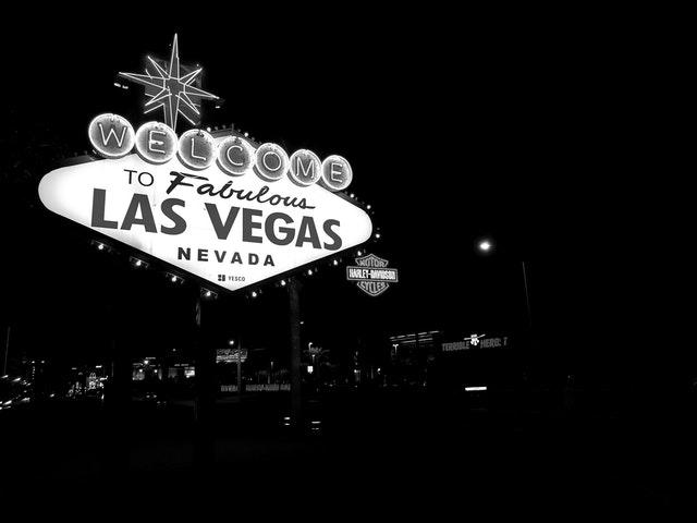 Fotografering inne i Las Vegas kasinoer